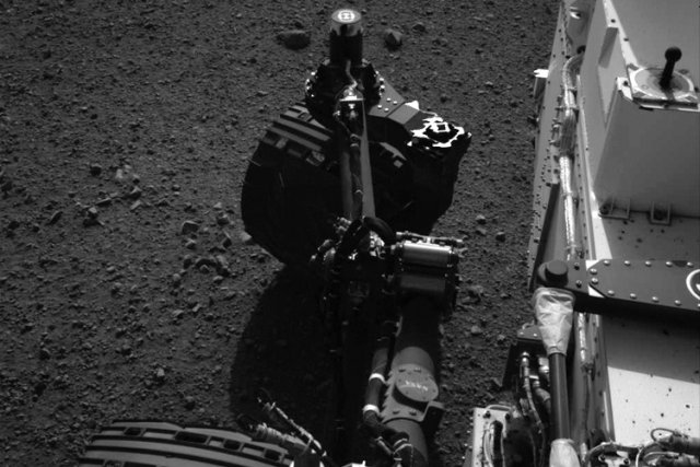 L'équipe de la mission Curiosity a confirmé que... (Photo: Reuters)