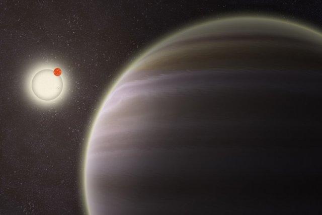 PH1, une planète gazeuse géante de la même... (Photo: AP)
