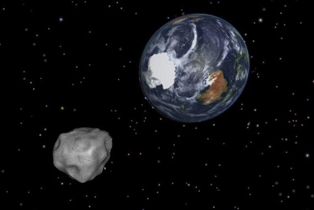 Le précédent astéroïde à avoir approché la Terre... (Photo PC)