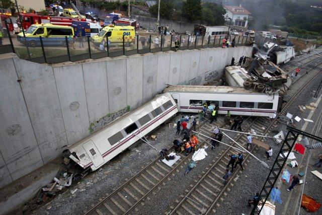 L'accident s'est produit à quelques kilomètres de la... (Photo: Reuters)