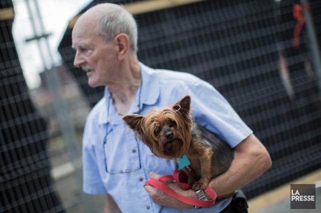Paul Leclerc, 83 ans, a été sauvé par... (Photo Édouard Plante-Fréchette, La Presse)