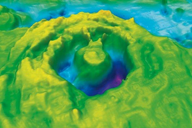 Le cratère de Corossol a récemment été étudié... (Patrick Lajeunesse et al. Meteoritics and Planetary Science)