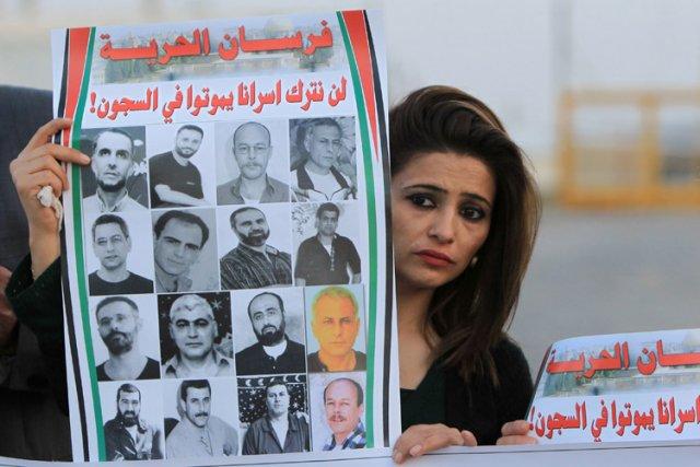 Le refus d'Israël de procéder samedi comme prévu... (Photo: AFP)