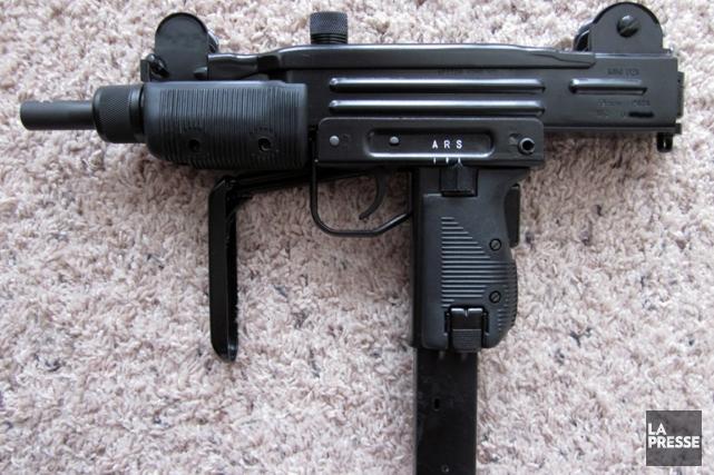 LE pistolet mitrailleur de confection israélienneUzi.... (PHOTO ARCHIVES LA PRESSE)