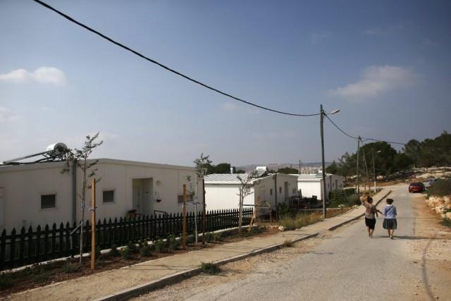 Israël a décidé de déclarer propriété de l'État... (PHOTO RONEN ZVULUN, REUTERS)