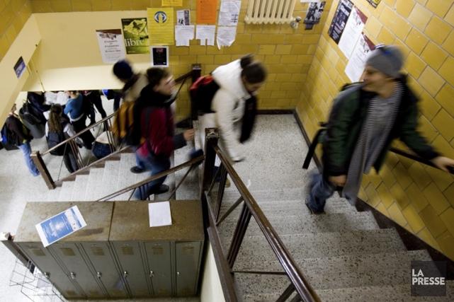 À Montréal, les étudiants qui ne paient pas... (Photo: Martin Tremblay, archives La Presse)