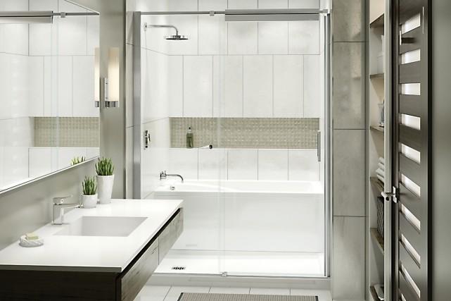 Maax Showers Maax Daylight Neoangle Shower Builtin