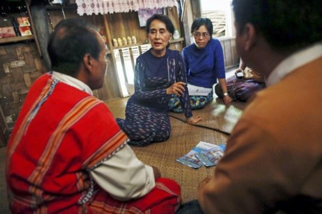 C'est la première élection nationale à laquelle le... (PHOTO SOE ZEYA TUN, ARCHIVES REUTERS)