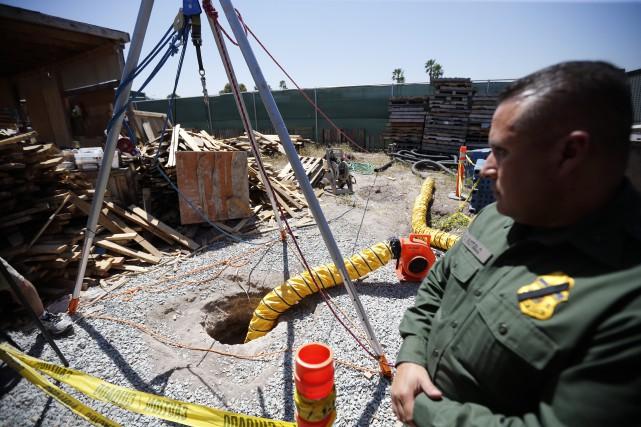 En avril, les autorités américaines ont découvert ce... (Photo archives AP)