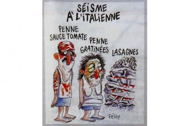 La publication par l'hebdomadaire satirique français Charlie Hebdo... (PHOTO TIRÉE DE L'INTERNET)