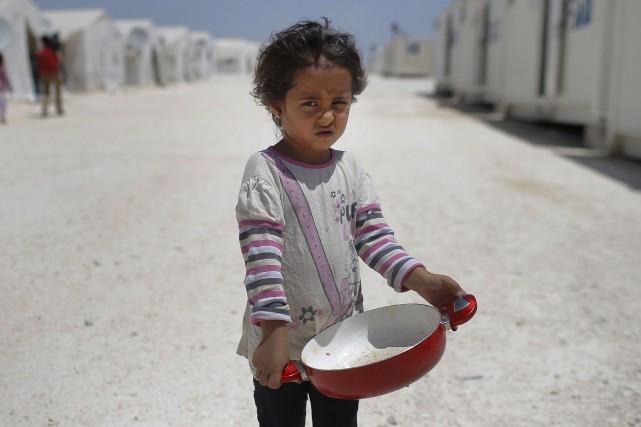 Près de six millions d'enfants sont menacés en... (Photo archives AP)