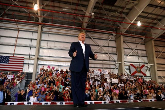 Donald Trump... (PHOTO KEVIN LAMARQUE, REUTERS)