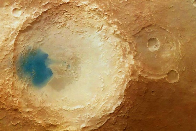 Il y a 3,4 milliards d'années, deux mégatsunamis,... (Photo : ESA / DLR / FU Berlin)