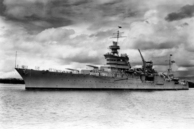 L'USS Indianapolis.... (Photo Reuters)