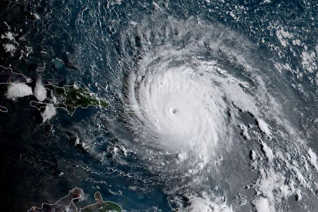 Le cyclone Irma a touché terre dans les... (AFP)