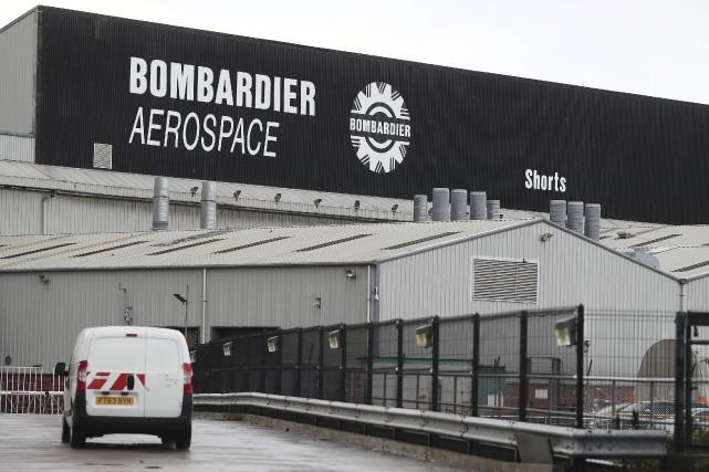 Outre sa présence au Canada, Bombardier est un... (AP)