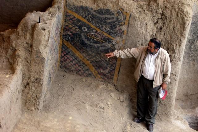 Le site sinistré, avant le drame.... (AFP)