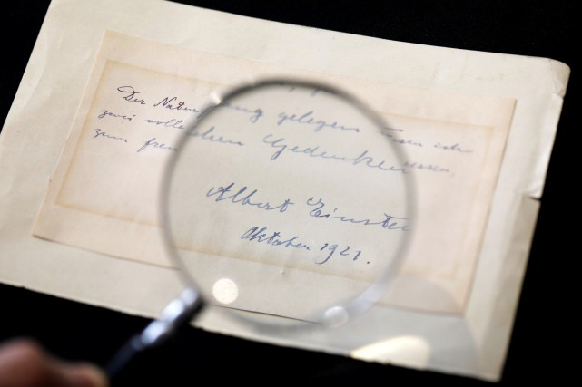 «Ces lettres révèlent la personnalité complexe du grand... (PHOTO REUTERS)