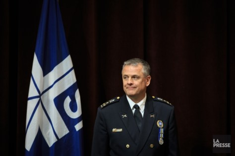 Le directeur du SPVM, Sylvain Caron, annoncera et... (Photo Olivier Pontbriand, archives La Presse)