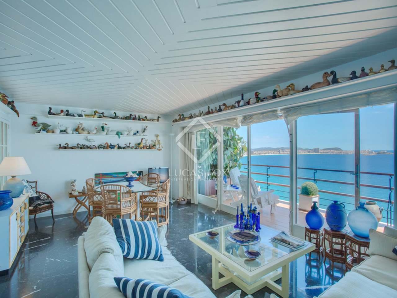 Apartamento frente al mar en venta cerca Playa de Aro