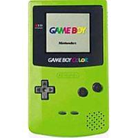 Kiwi Green Game Boy Color System on Sale.