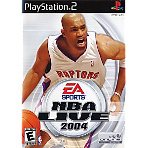 NBA Live 2004 Sony Playstation 2 Game