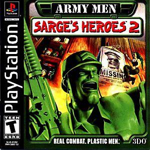 ARMY MEN SARGES HEROES 2 Playstation 1 Game