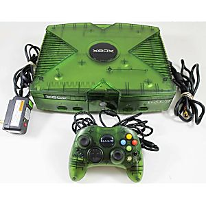 Xbox System Halo Edition Console Used