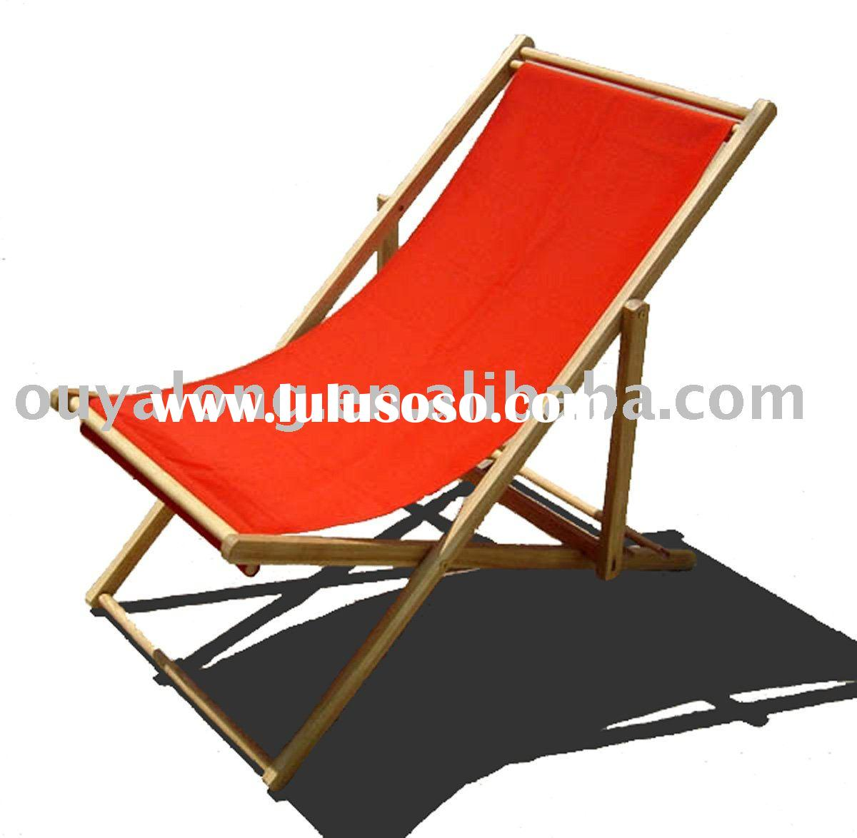 how to make a wooden beach chair outdoor wicker lounge wood for sale price china manufacturer