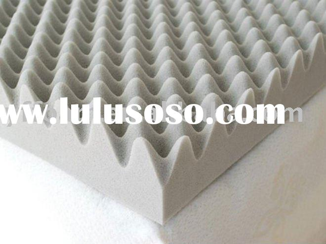 Eggcrate Wavy Foam Mattress Topper