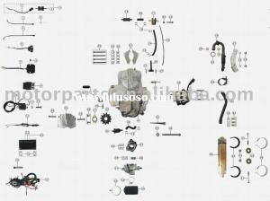 ENGINE PARTS110CC ATV PARTS for sale  Price,China