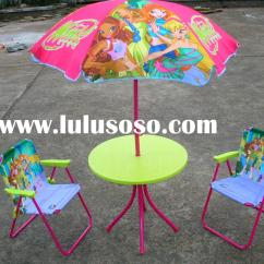 Kids Adirondack Chair And Table Set With Umbrella Folding Sports Chairs Patio For Sale