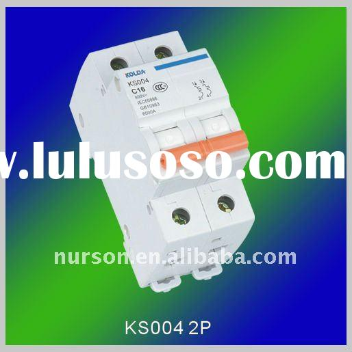 China Miniature Circuit Breaker Kc163 C25 China Circuit Breaker