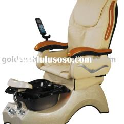 Portable Pedicure Chairs Bean Bag Chair Filling Beauty Spa Crystall Bowl