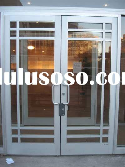 Metal Glass Double Entry Doors For Sale PriceChina