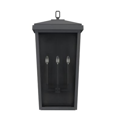 donnelly outdoor 3 light wall sconce