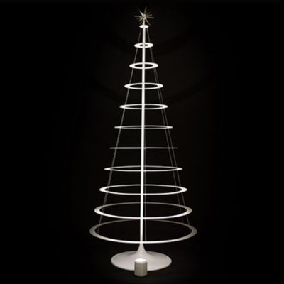 modern christmas trees the