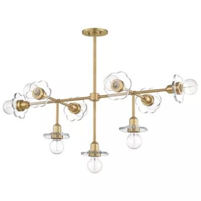 alexa 9 light chandelier