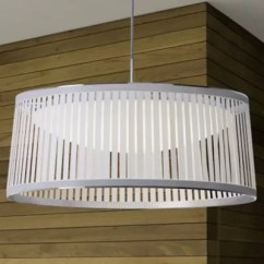 Kitchen Drum Light Metal Base Cabinets Lights Pendants At Lumens Com Solis Led Pendant