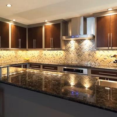 kitchen counter lighting unit under cabinet lights systems at lumens com g k slim line led undercabinet collection