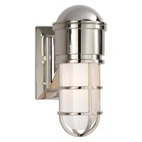 Eris LED Short Outdoor Wall Sconce by Oxygen Lighting at ...