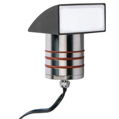 landscape lighting led 2 inch inground light with hood