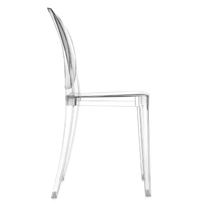 victoria ghost chair folding rocker lawn chairs set of 4 by kartell at lumens com