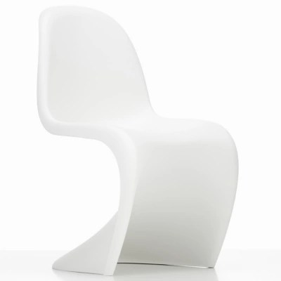panton chair review cool office chairs 1999 by vitra at lumens com shown in white