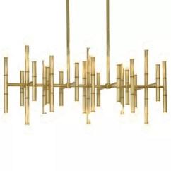 Kitchen Island Lighting Window Ideas Treatments Chandeliers Pendants At Lumens Com Meurice Rectangular Chandelier
