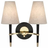 Ventana Double Wall Sconce by Robert Abbey at Lumens.com