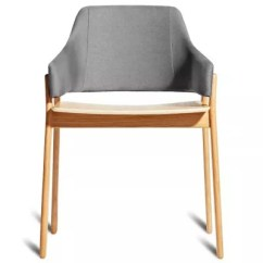 Blu Dot Chairs Graco 4 In One High Chair Clutch Dining By At Lumens Com Shown Pewter White Oak Finish