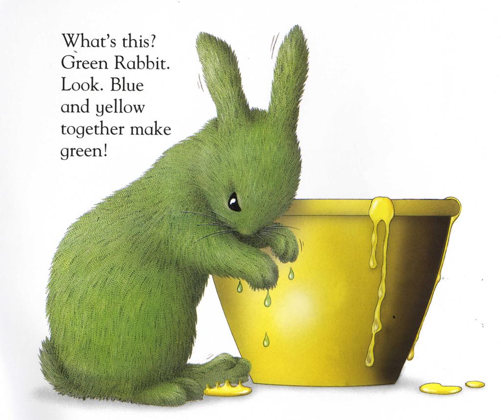 White Rabbit Color Book