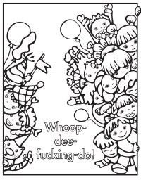 Profanity Coloring Book Coloring Pages