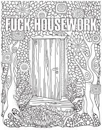 The Swear Word Coloring Book | Hannah Caner | Macmillan